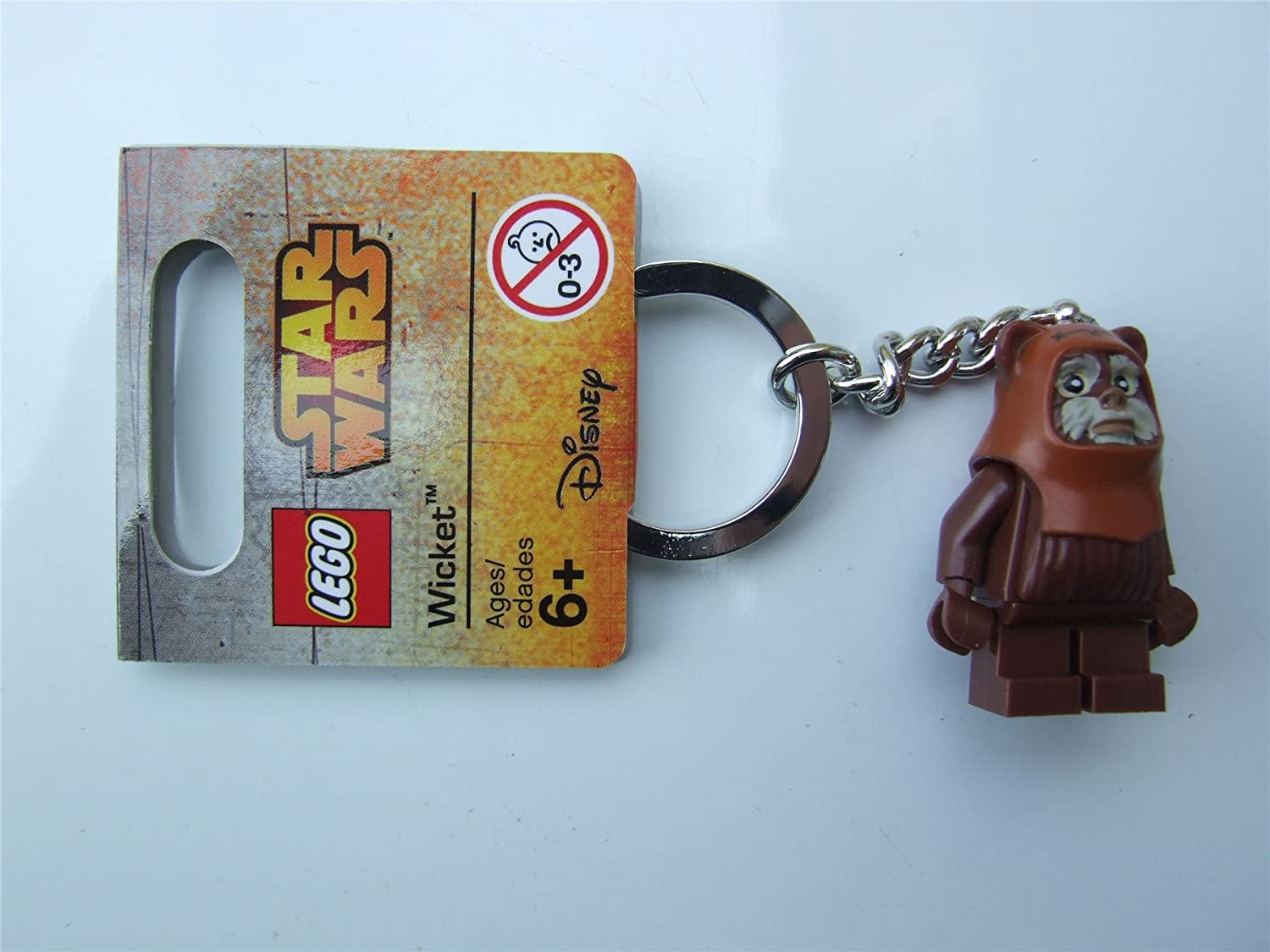 Lego Star Wars Wicket Key Chain