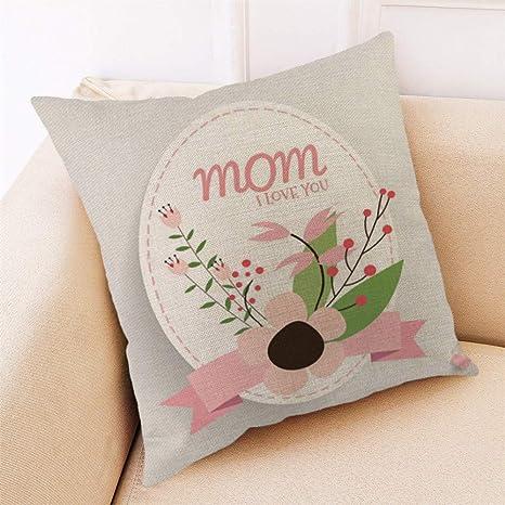 VRTUR Feliz día de la Madre, Funda de Almohada,Funda de ...
