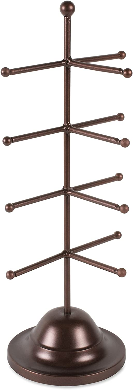 Home Traditions Z02235 Metal Holder Display Stand for 4 Sunglasses, Bronze