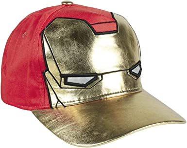 Artesania Cerda Gorra Innovación Avengers Iron Man, Azul (Azul ...