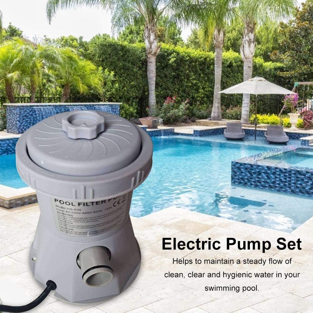 Pompe /à filtre Piscine pompe /à filtre /électrique pour piscine 20W 110-240V pompe /à filtre /à cartouche transparente pour piscines hors sol