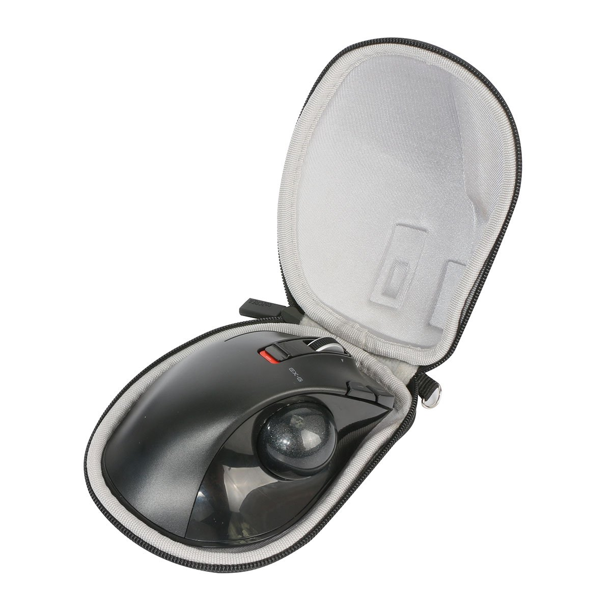 Hard Travel Case for ELECOM Wireless Trackball Left-Handed Mouse M-XT4DRBK by co2CREA