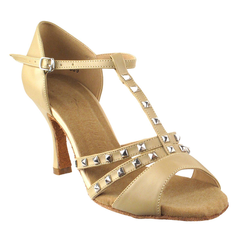 激安単価で [Gold Pigeon Leather Shoes] レディース 5 B075J18WVZ 1/2|7012- Heel 3