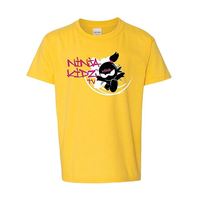 Ninja Kidz- TV Flower Tee: Ninja Kids T-Shirt Short Sleeve