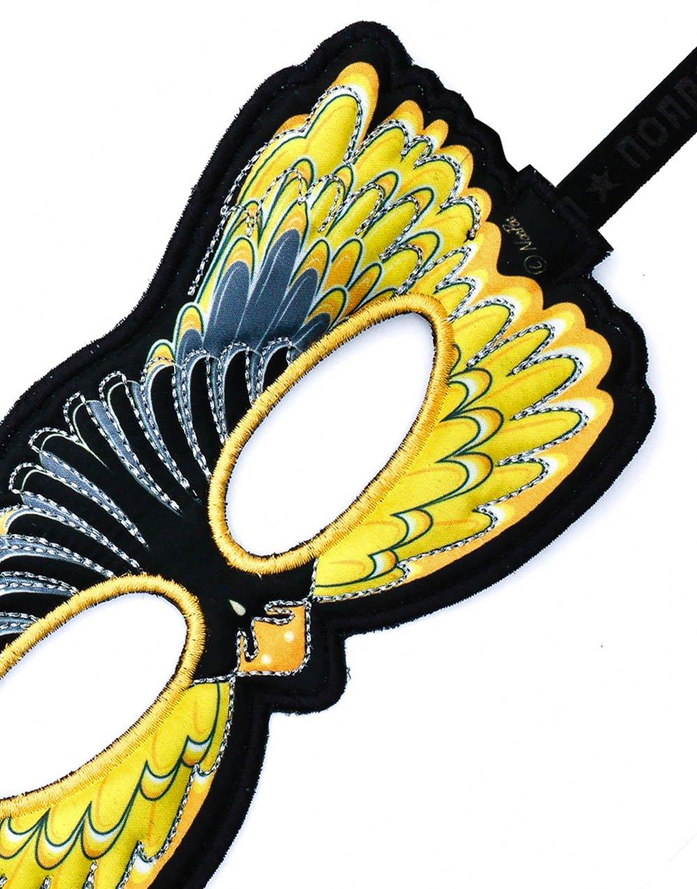 Taille Unique Bird Masque Spinus Tristis DREAMY DRESS-UPS 170/530,5/cm Eastern chardonneret