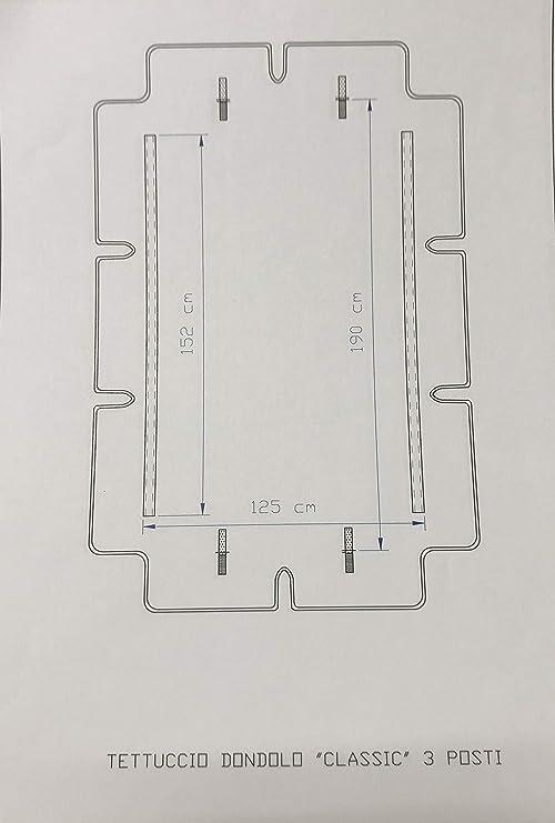 Stiliac 9411t300/Juego Almohadas Repuesto 150/x 55/x 6/cm Crudo