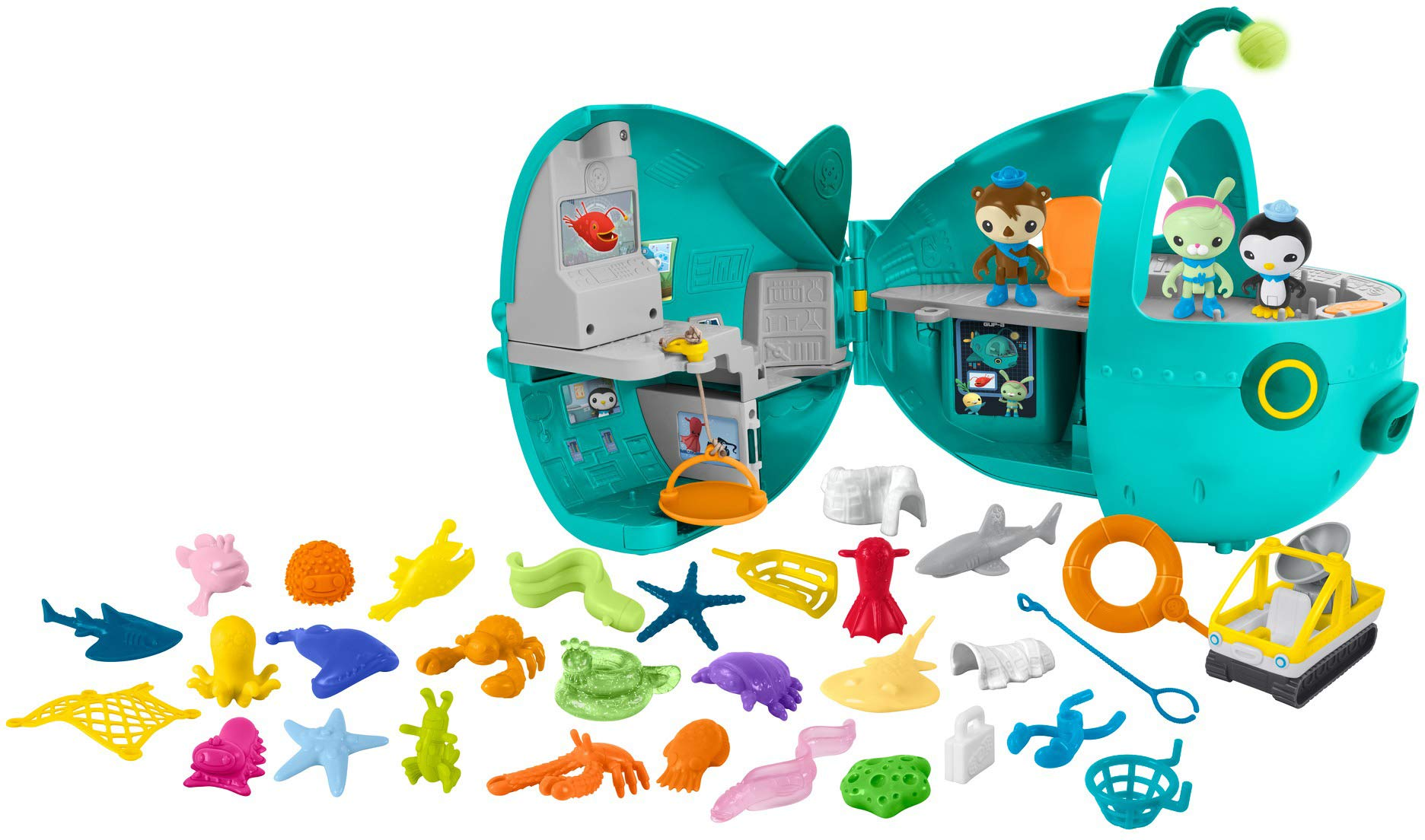 Fisher-Price Octonauts Gup-A Megapack [Amazon Exclusive] by Fisher-Price (Image #7)