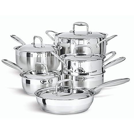 Amazon.com: Paderno - Juego de utensilios de cocina de 11 ...