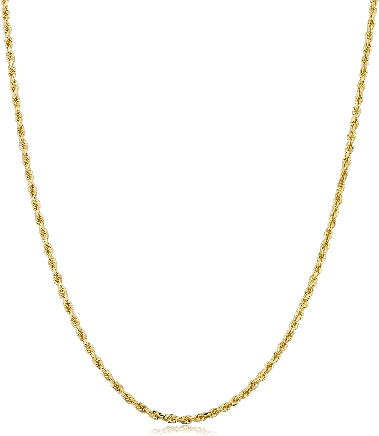 """20/"""" 18/"""" 24/"""" 14 k Solid Yellow Gold 1.2 mm Singapore Chain Necklace 16/"""""""