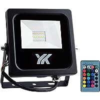 YANKON Foco Reflector LED RGB Consume 20W Ilumina 150W