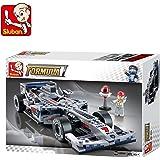 Sluban Silver Arrows Racing Car-257 Pcs ( M38-B0352 ) (Lego Compatible)