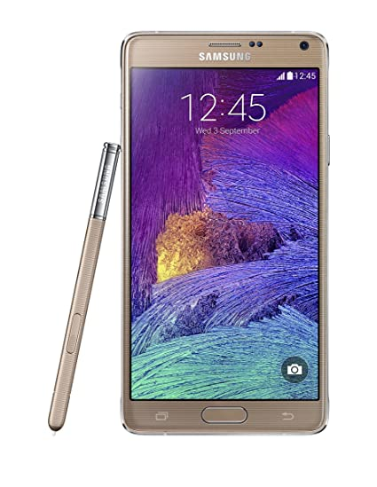 Samsung Galaxy Note 4 SM-N910F 4G LTE GOLD Factory Unlocked International  Model