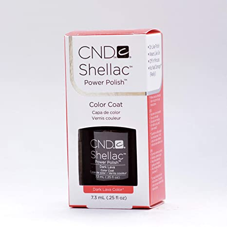 Cnd Shellac Dark Lava Esmalte en Gel - 7.3 ml
