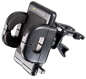 Bracketron PHV-202-BL Grip-iT GPS and Mobile Device Holder (Black)