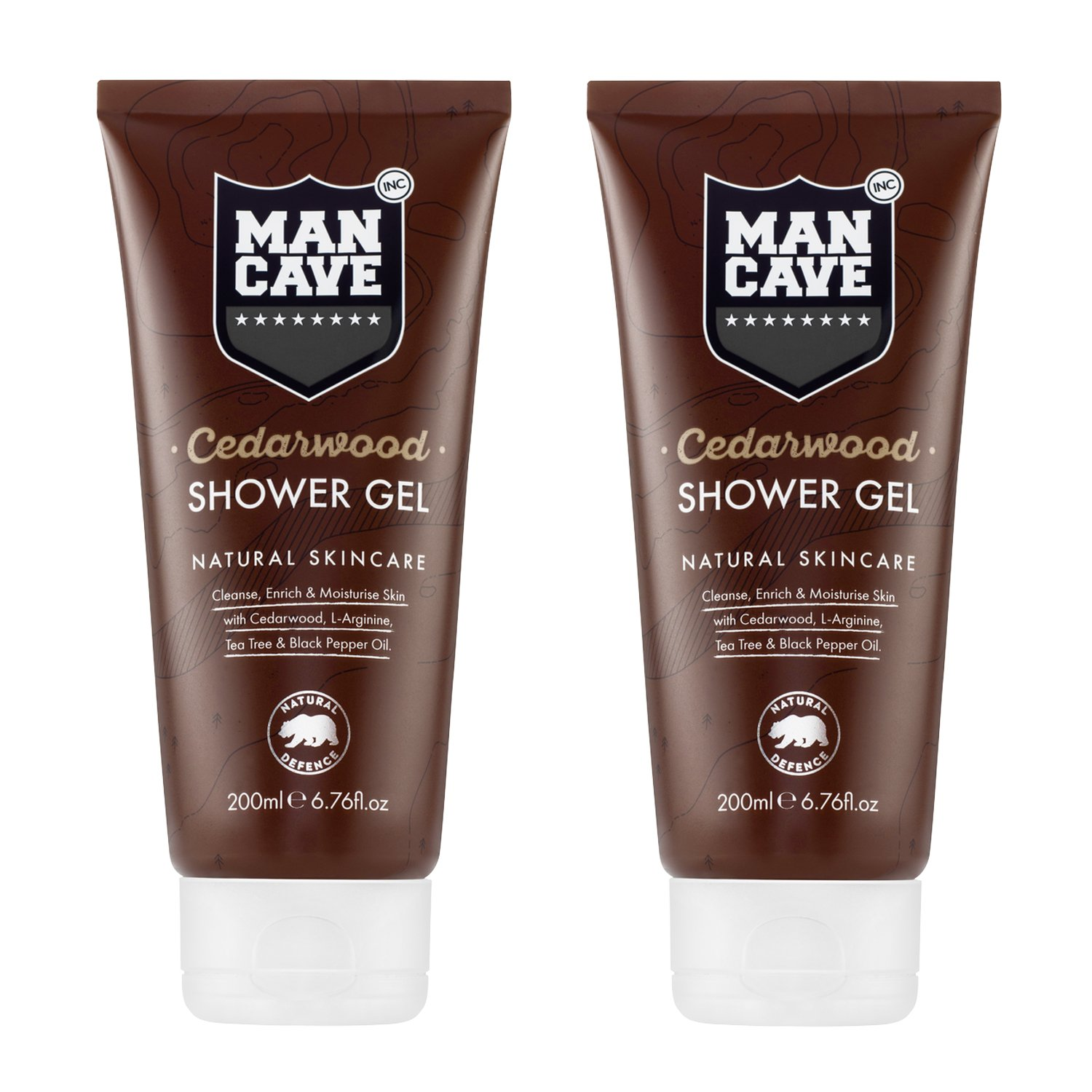 ManCave Cedarwood Shower Gel 200ml ManCave Inc. MC1004A