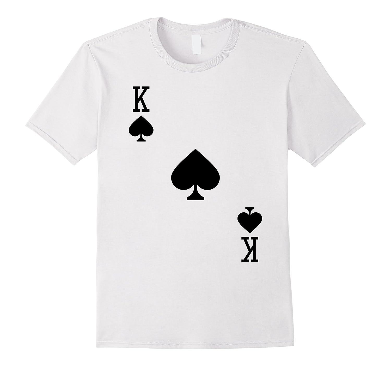 King of Spades Costume T-Shirt Halloween Deck of Cards-ANZ  sc 1 st  Anztshirt & King of Spades Costume T-Shirt Halloween Deck of Cards-ANZ - Anztshirt
