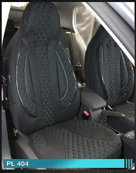 PL408 Ma/ß Sitzbez/üge kompatibel mit FIAT Ducato 250 Fahrer /& Beifahrer ab BJ 2006 Farbnummer
