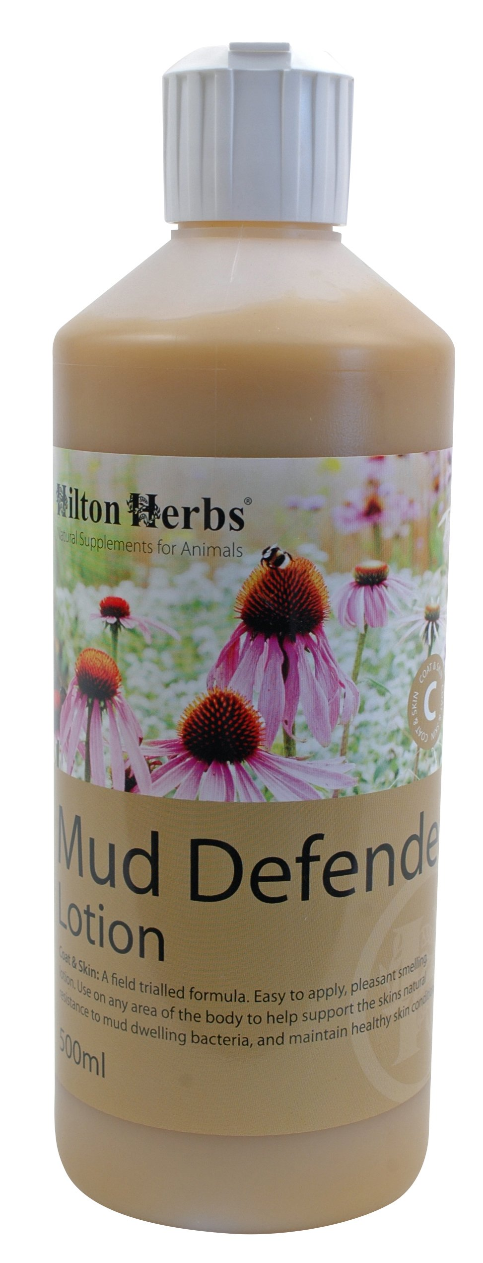 Hilton Herbs Mud Defender Bacteria Protection Lotion for Horses, 1.05pt Bottle by Hilton Herbs