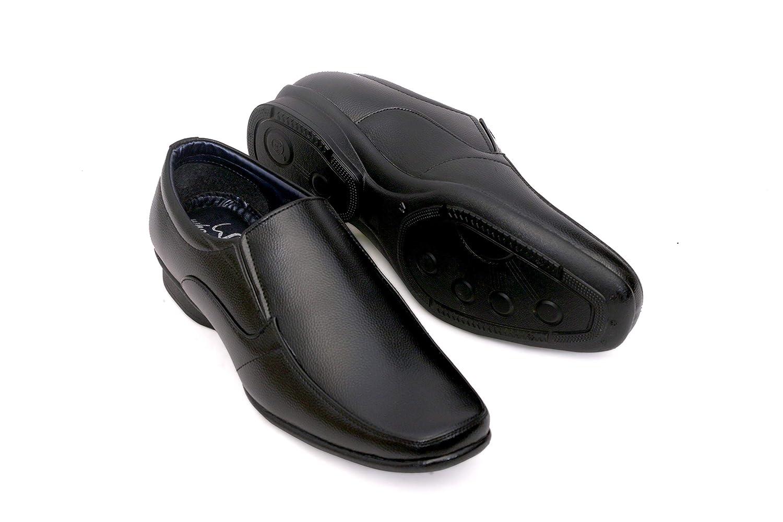WHOOSHOO Men Everyday Wear Black