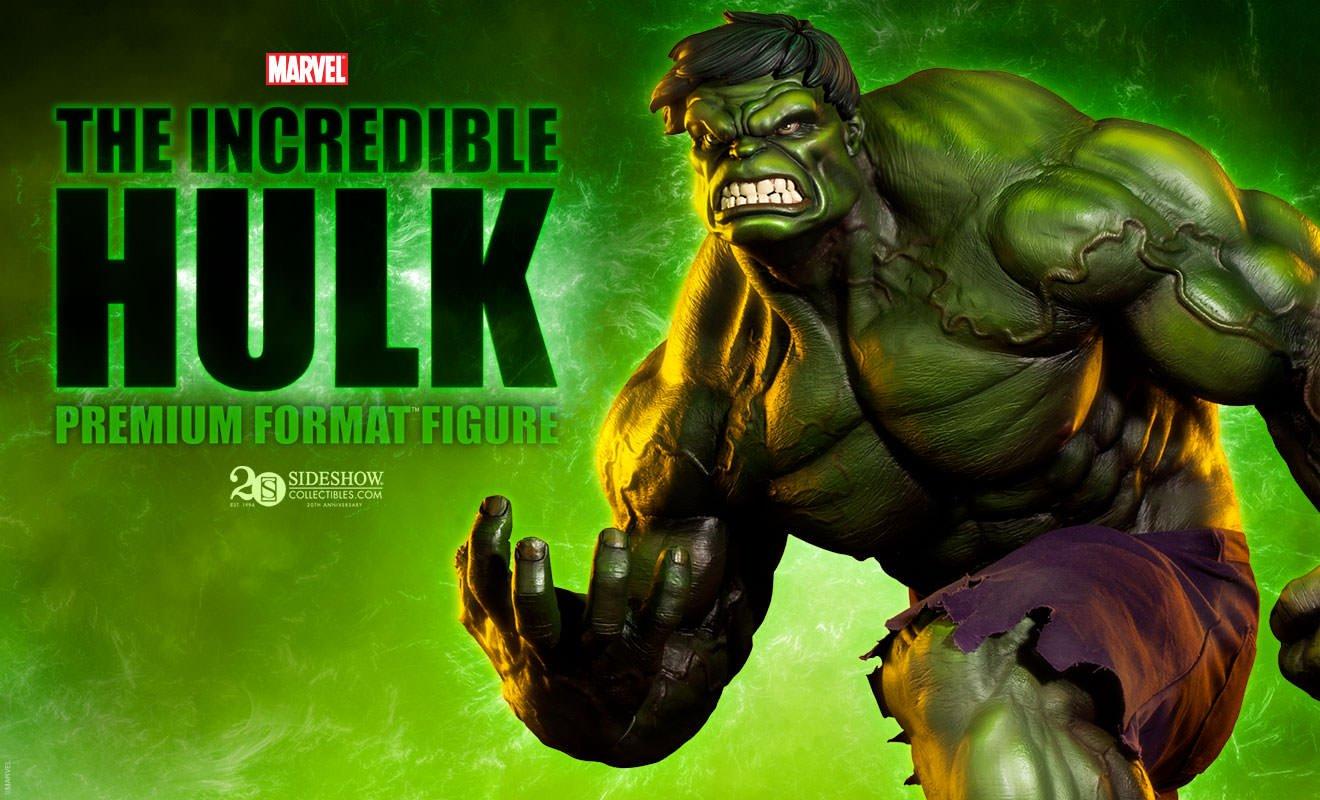 Amazon.com: Sideshow Marvel Comics The Incredible Hulk Premium ...