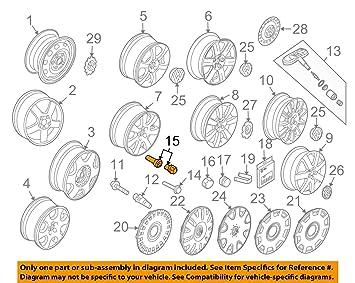 Original Volkswagen Vw Autopartes Candado De Llantas kit de ...