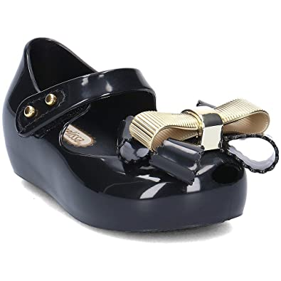 42791b68e4e Mini Melissa Mini Ultragirl Chrome Bow 01003 30EU UK12  Amazon.co.uk ...