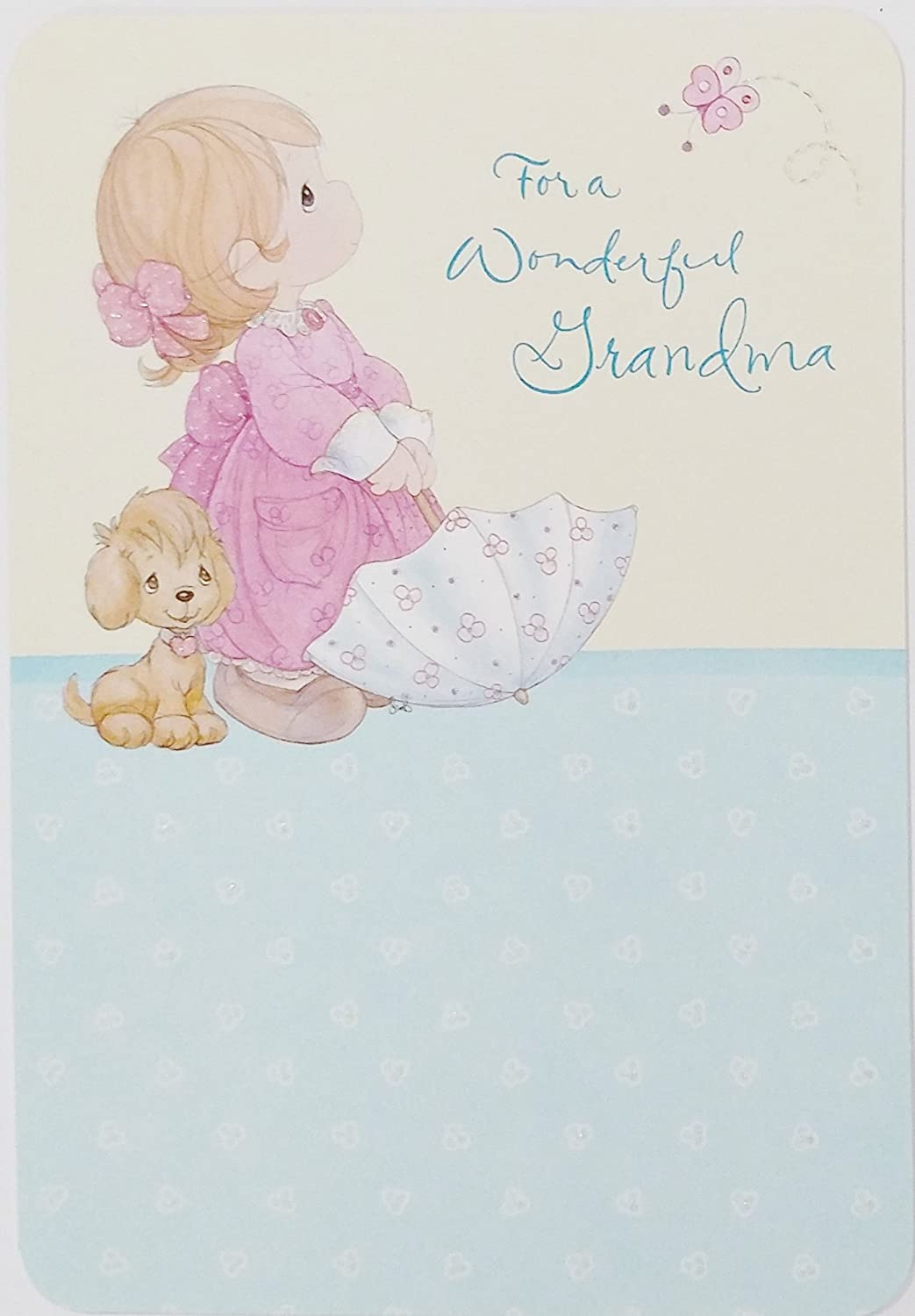 Amazon.com : Precious Moments - For a Wonderful Grandma - Mother's Day Greeting  Card : Office Products
