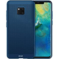 Olixar Cooling Case Compatible with Huawei Mate 20 Pro - Breathable Mesh Case - Heat Dissipating Design Meshtex - Blue