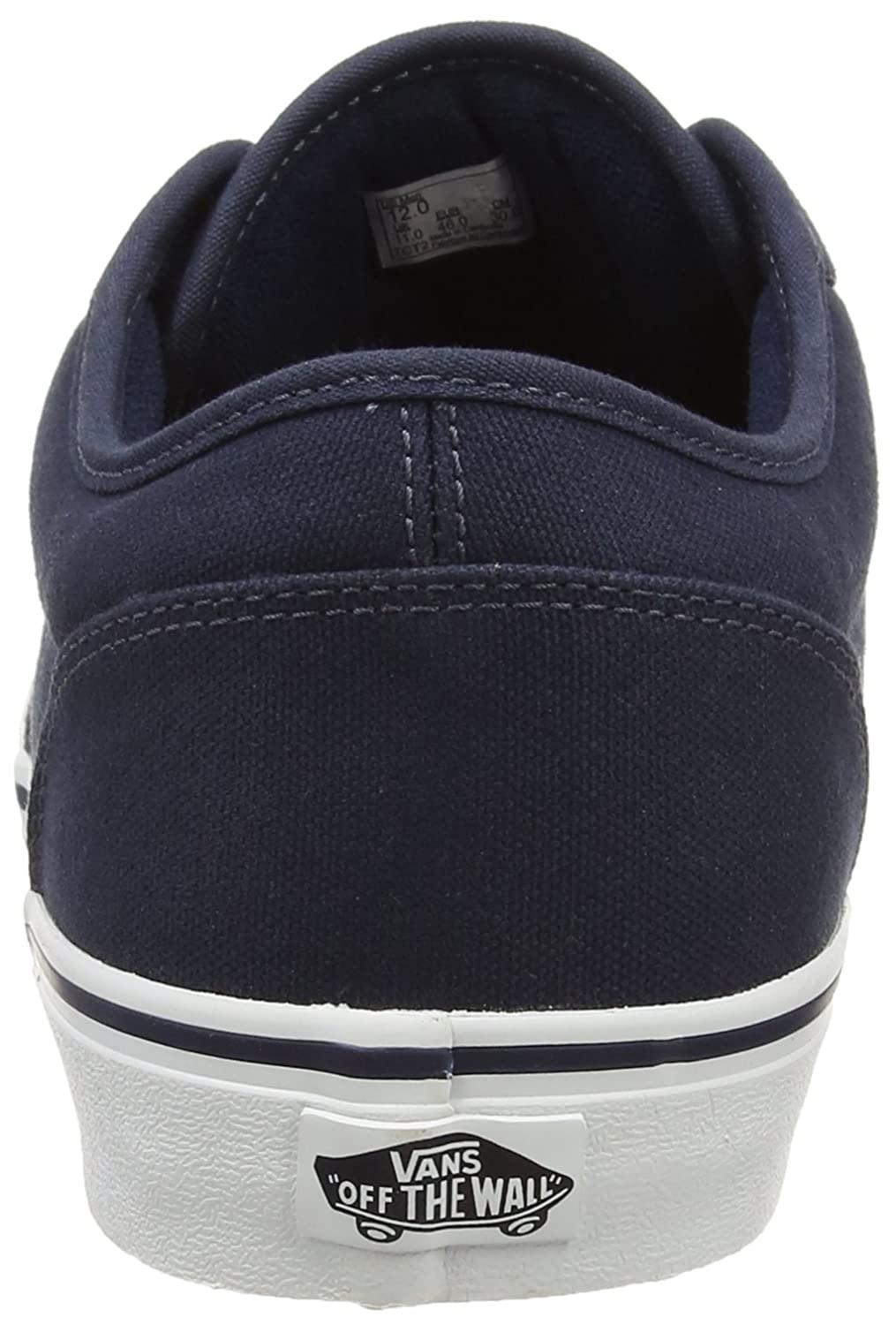 7e3ab720d Vans Men's Atwood Canvas Blue Low-Top Sneakers: Amazon.co.uk: Shoes & Bags