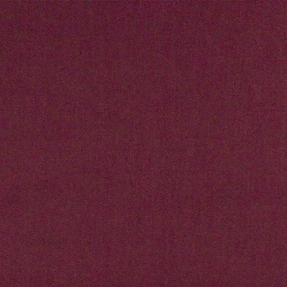 Tela de algodón 100% lisa, colores sólidos, acolchado, patchwork ...