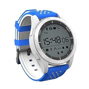 Smartwatch pulsera actividad reloj deportivo impermeable Reloj Bluetooth F3 Podómetro SHFY iPhone compatible con Android Teléfonos Android para hombre Mujer ...