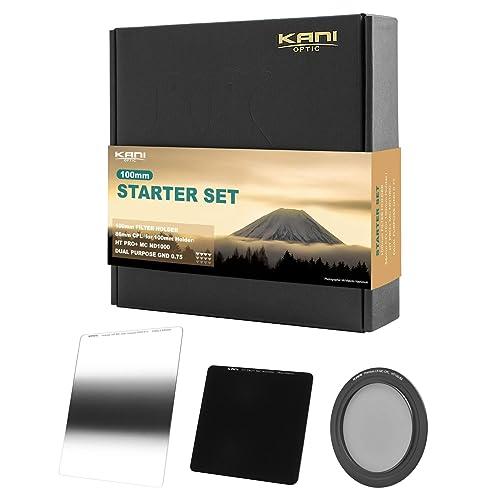 さまざまなレンズで使うなら角型がおすすめ KANI 100mm 角型フィルタースターターセット