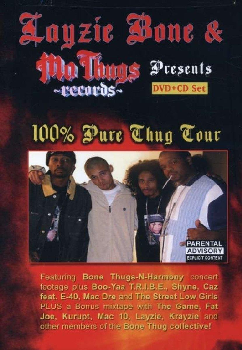 Bone Thugs-N-Harmony - 100% Thug Tour (Bonus CD, 2PC)