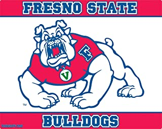 """product image for Wow!Pad 12"""" x 15"""" Collegiate Tailgate Gaming Pad, Made in USA, Fresno State"""
