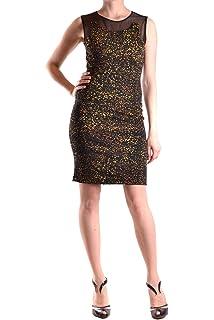 bfbfda36f5f Liu Jo Women's MCBI190042O Fuchsia Acrylic Dress: Amazon.co.uk: Clothing