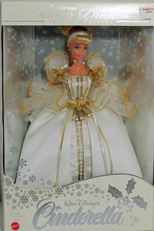 12 Mattel Barbie Doll K. B. Toys Cinderella Winter