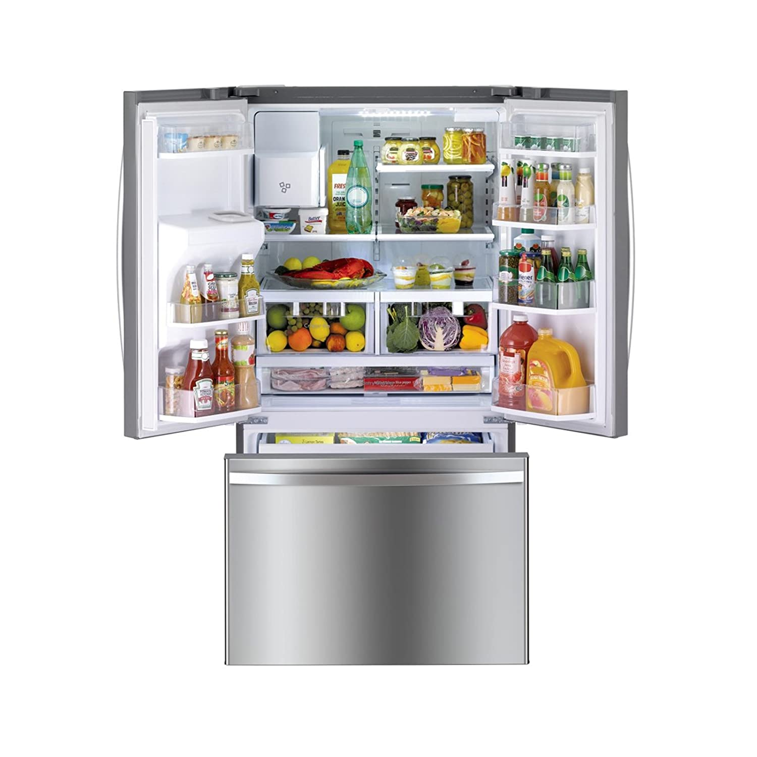 Amazon kenmore 73045 256 cuft french door refrigerator amazon kenmore 73045 256 cuft french door refrigerator with bottom freezer includes delivery and hookup available in select cities only rubansaba