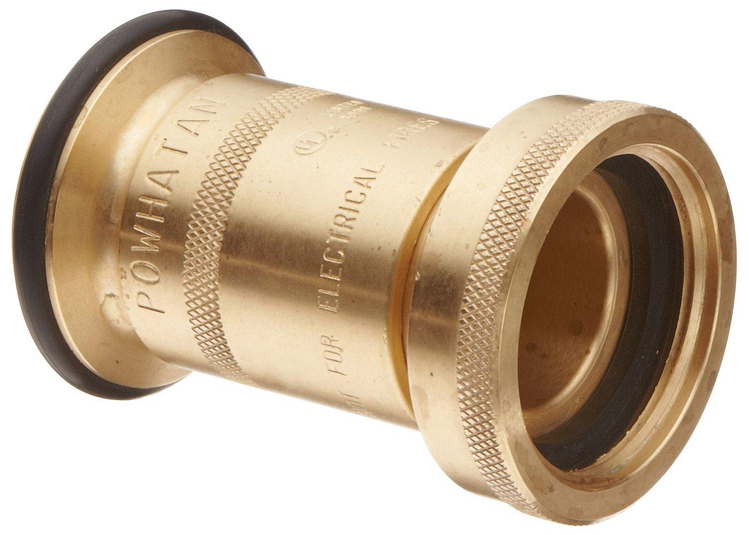 Dixon BFN150NST Brass Fire Equipment, Industrial Fog Nozzle, 1-1/2'' NST (NH) Thread, Box of 10