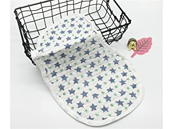 Min Ben Toalla de baño Baberos Impresos bebé recién Nacido Sudor ...