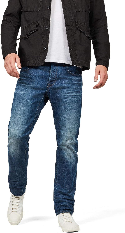 TALLA 28W / 34L. G-Star Raw 3301-straight Jeans para Hombre