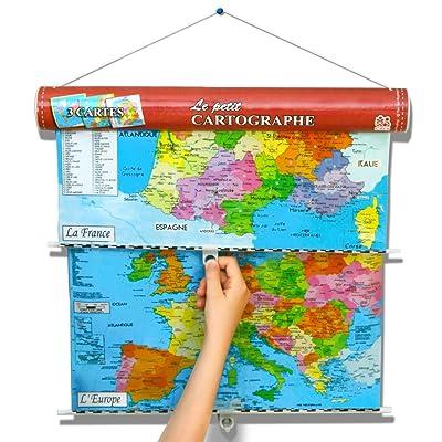 Caly - 015F - Jeu éducatif - Le Petit Cartographe