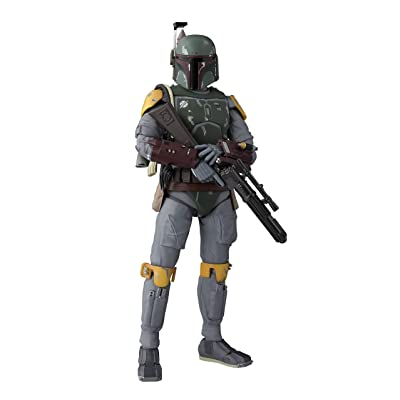 Bandai S.H.Figuarts Boba Fett (Star Wars: Episode VI -Return of The Jedi) Star Wars Episode 6 / Return of The Jedi: Toys & Games
