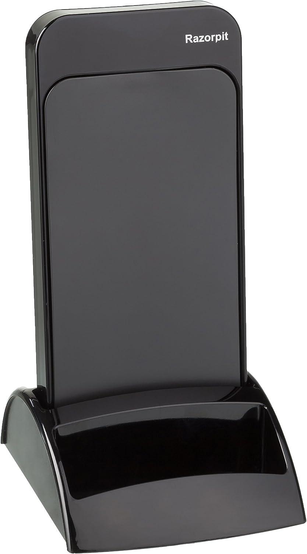 Razorpit 250001 - Cuenco de jabón, color negro