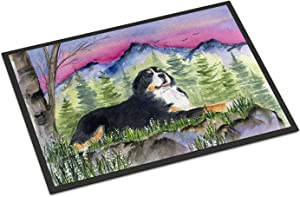 Caroline's Treasures SS8332JMAT Bernese Mountain Dog Indoor or Outdoor Mat 24x36 Doormat, 24H X 36W, Multicolor