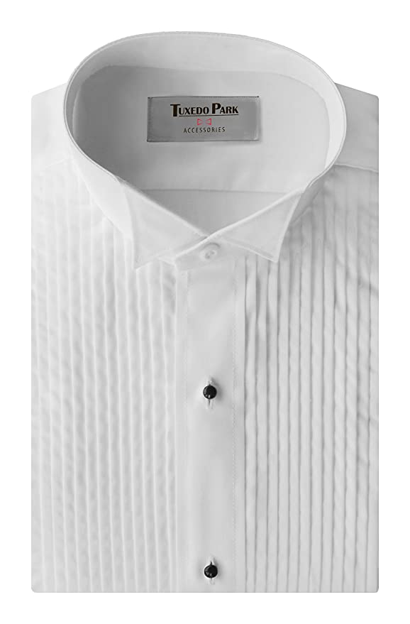 d2d645a4d1c Tuxedo Shirt- Boys White Wing Collar 1 4