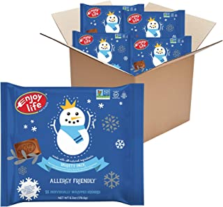 product image for Enjoy Life Chocolate Winter Holiday Candy Variety Pack, Nut Free, Soy Free, Dairy Free Chocolate, 4 Packs