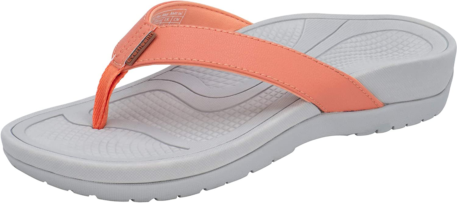 EVERHEALTH Orthotic Sandals Women's Flip sold out Arch with Flops Inventory cleanup selling sale Thongs