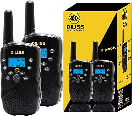 2 X Walkie Talkie Kids Electronic Toys adult Portable Two-Way Radio Set