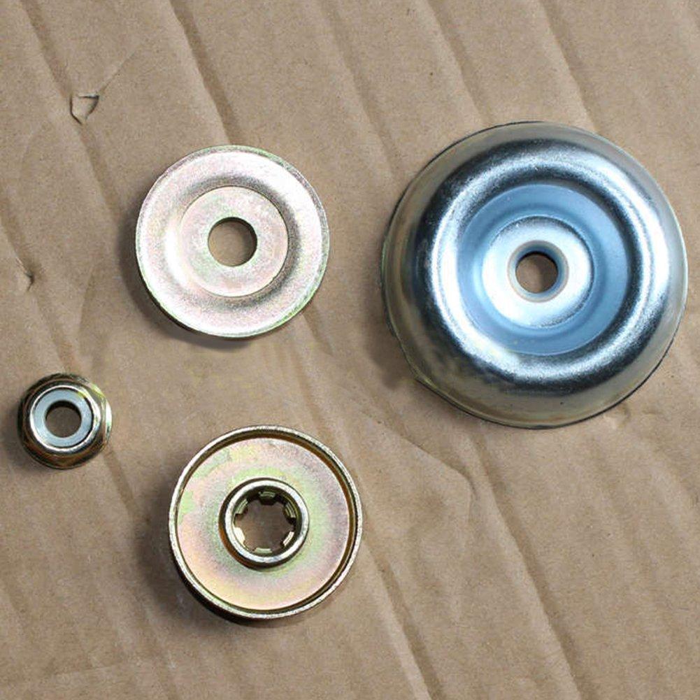 4pcs metallo cambio lama dado kit di fissaggio per testa di ricambio per tagliabordi tagliaerba decespugliatore trimmer