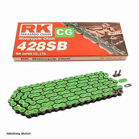 Kettensatz Kymco Zing II 125 04-15 Kette JT 428 HDR 124 offen 16//39